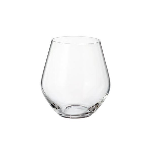 Crystalite Bohemia Grus Set Of 6 Tumbler Glasses