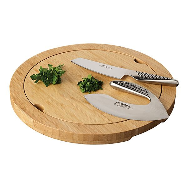 Global G-4765BD 2-Way Board & Vegetable Knife