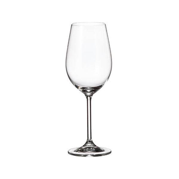 Crystalite Bohemia Colibri Set Of 6 White Wine Glasses