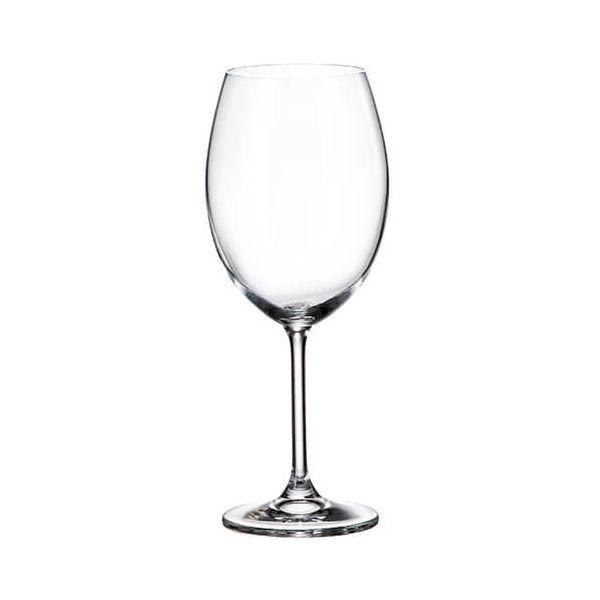 Crystalite Bohemia Colibri Set Of 6 Red Wine Glasses