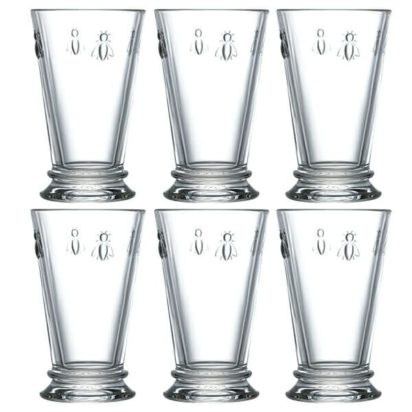 La Rochere Bee Long Drink Glass 310ml Set of 6