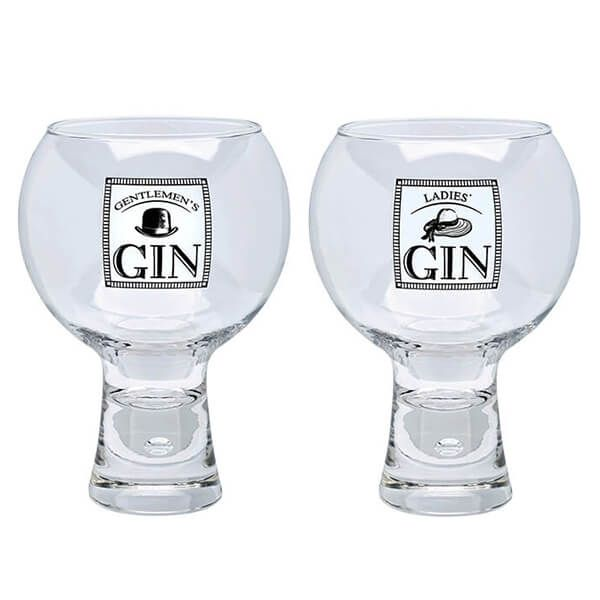 Durobor Raising Spirits Ladies' & Gentlemen's Gin Glass