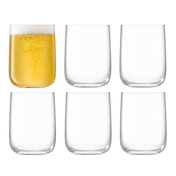 LSA Borough Bar Glass 625ml Clear 6 For 4