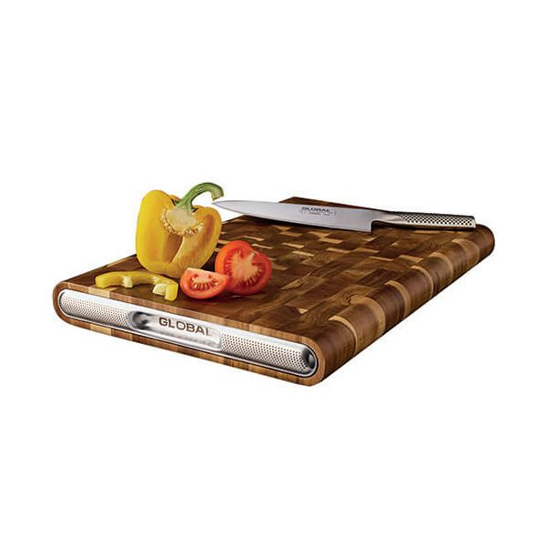 Global Acacia End Grain Cutting Board 45 x 30 x 4.5cm