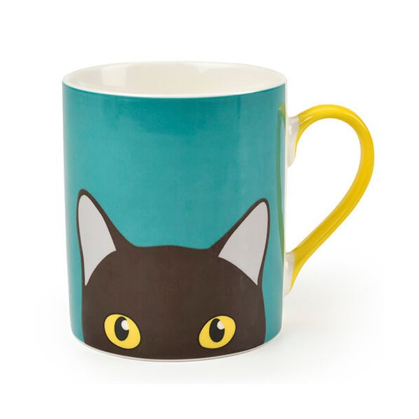 Burgon & Ball Creaturewares Doris Cat Fine China Mug