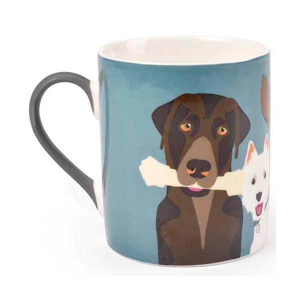 Burgon & Ball Creaturewares The Rabble Dog Fine China Mug