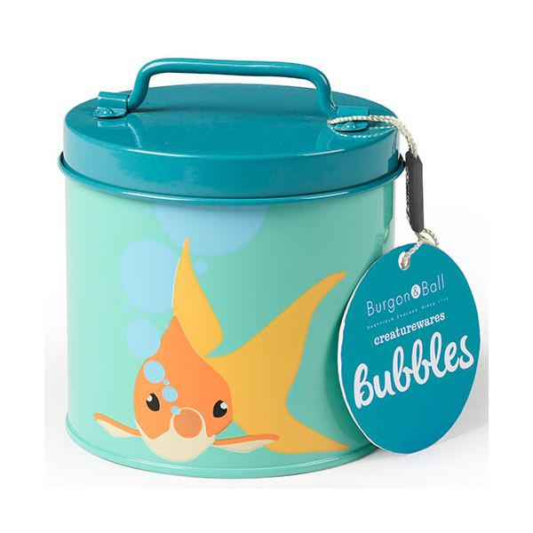Burgon & Ball Creaturewares Bubbles Goldfish Tin