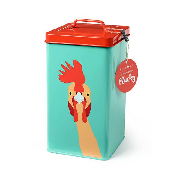 Burgon & Ball Creaturewares Plucky Chicken Tin