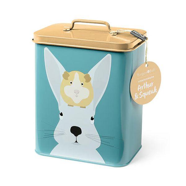 Burgon & Ball Creaturewares Arthur & Squeak Rabbit & Guinea Pig Tin