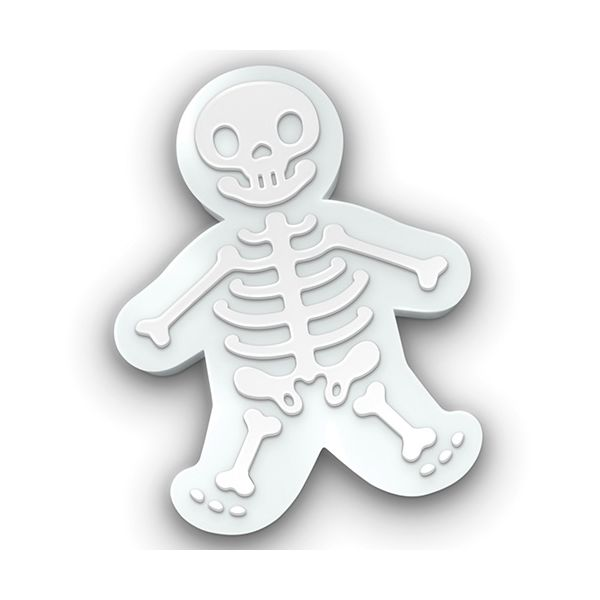 Fred Gingerdead Men skeletons Cookie Cutter