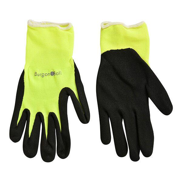 RHS Florabrite Fluorescent Garden Glove - Yellow