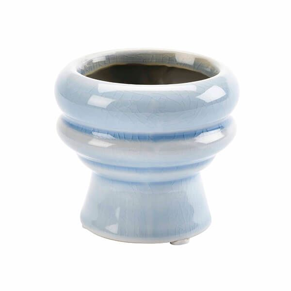 Burgon & Ball Florence Succulent Pot - Light Blue