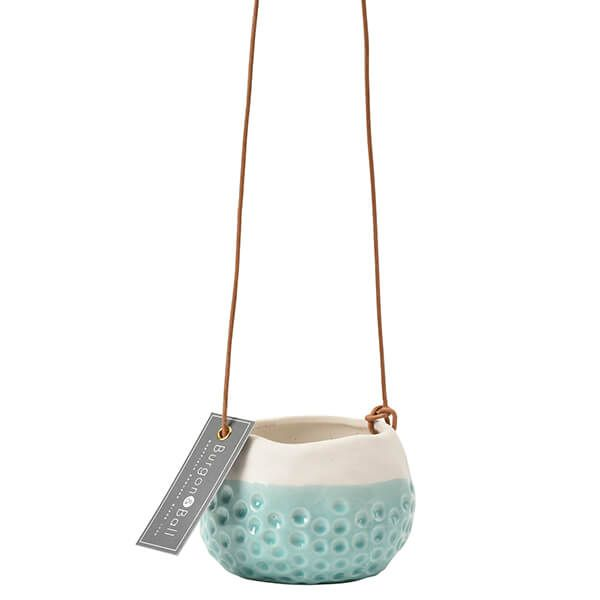Burgon & Ball Baby Dotty Hanging Pot