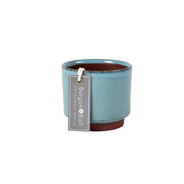 Burgon & Ball Malibu Blue Succulent Pot