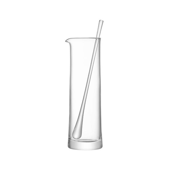 LSA Gin Cocktail Jug & Stirrer 1.1L Clear