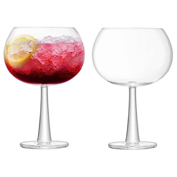 LSA Gin Grand Balloon Glass 690ml Clear Set Of 2
