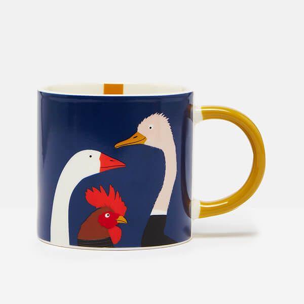 Joules Goose Blue Mug
