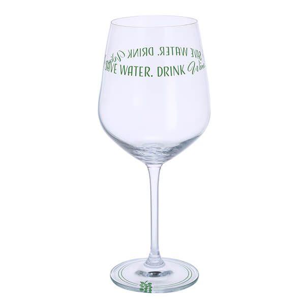 Dartington Wine Time Save Water Drink Wine