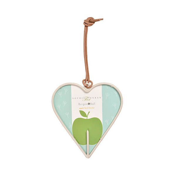 Burgon & Ball Sophie Conran Apple Bird Feeder Heart