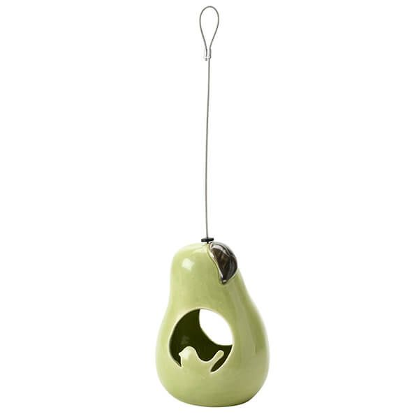 Burgon & Ball Sophie Conran Ceramic Pear Bird Feeder