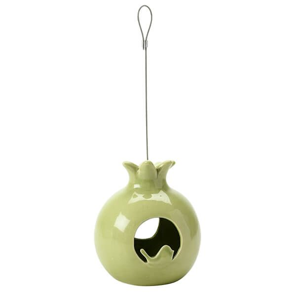 Burgon & Ball Sophie Conran Ceramic Pomegranate Bird Feeder