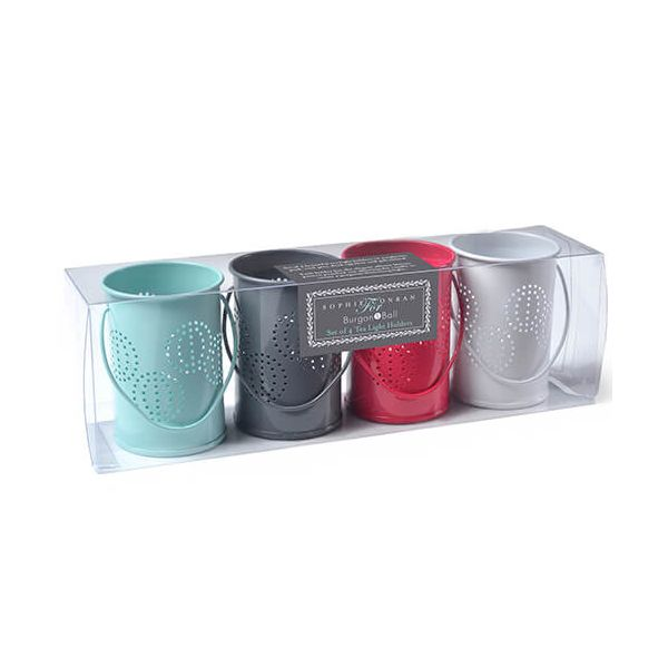 Burgon & Ball Sophie Conran Tea Light Holders Mixed