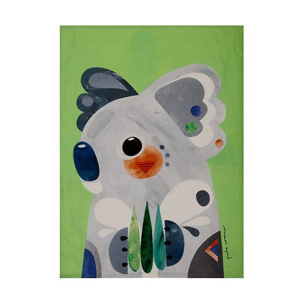 Maxwell & Williams Pete Cromer Tea Towel Koala
