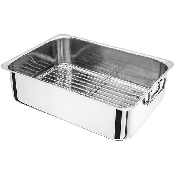 Judge 36 x 26 x 10cm Roasting Pan with Rack