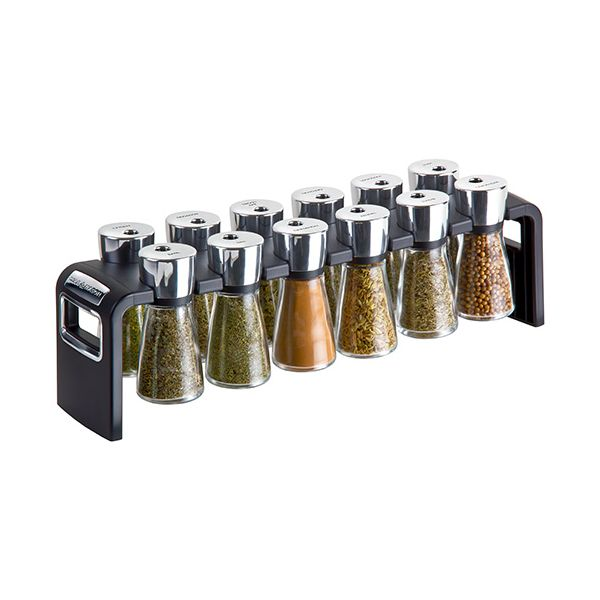 Cole & Mason Herb & Spice Rack 12 Jar (Includes Spices)