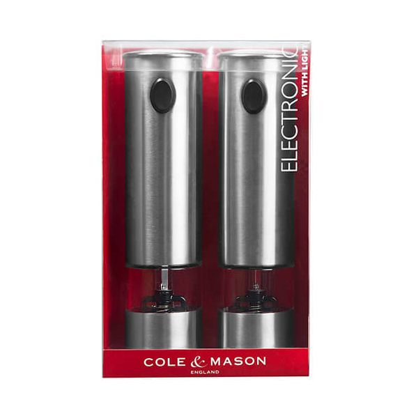 Cole & Mason Battersea Electronic Precision Mill Gift Set
