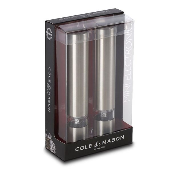 Cole & Mason Chiswick Mini Electronic Mill Gift Set