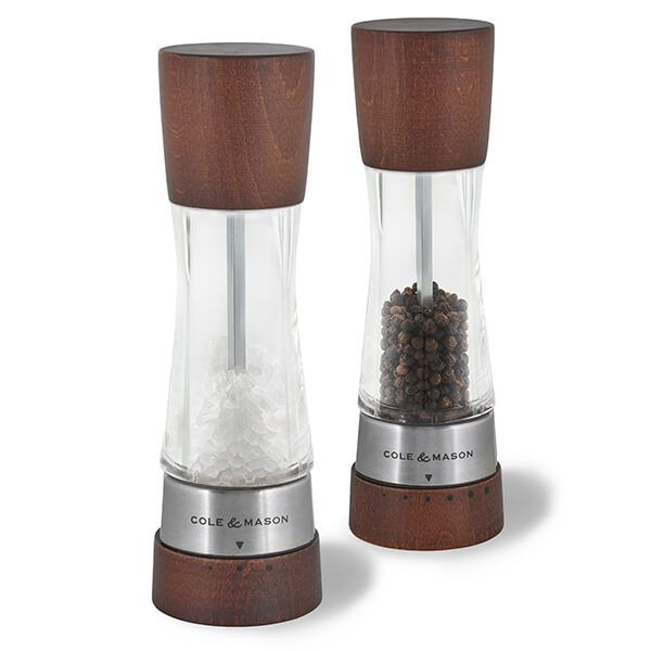 Cole & Mason Derwent Gourmet Forest Wood Precision Mill Gift Set