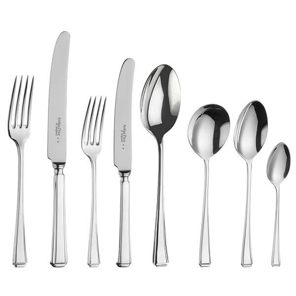 Arthur Price of England Sovereign Stainless Steel Harley 44 Piece Cutlery Box Set