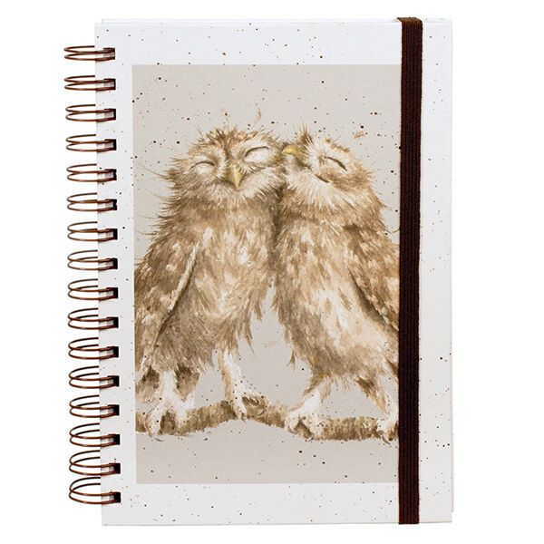 Wrendale Birds Of A Feather Spiral Bound Notebook