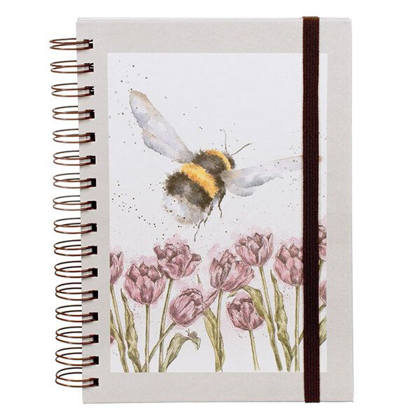Wrendale Flight Of The BumbleBee Spiral Bound Notebook