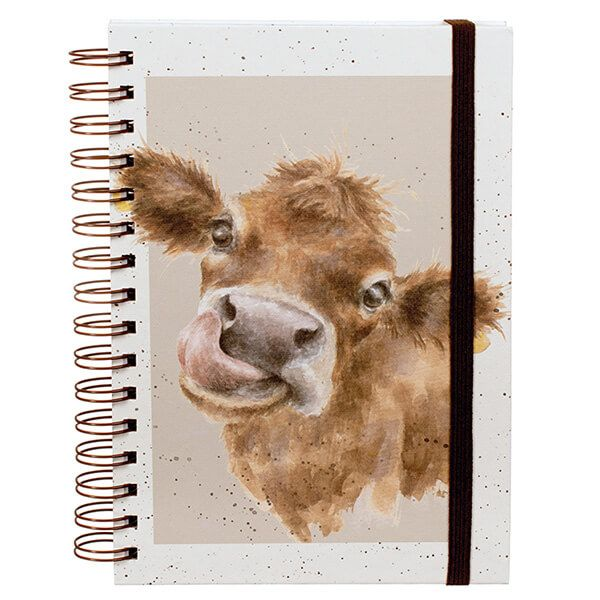 Wrendale Mooo Spiral Bound Notebook