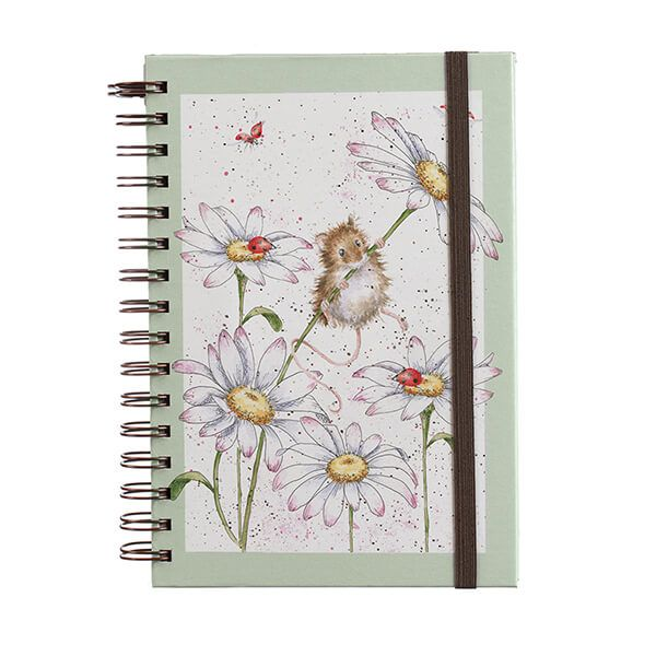 Wrendale Designs Oops a Daisy A5 Spiral Bound Notebook