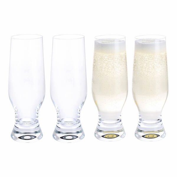 Dartington Home Bar Tall Fizz Glass Pack Of 4