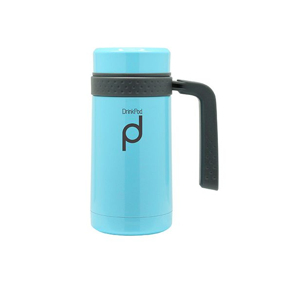 Grunwerg Drink Pod Travel Mug 0.45 Litre Blue
