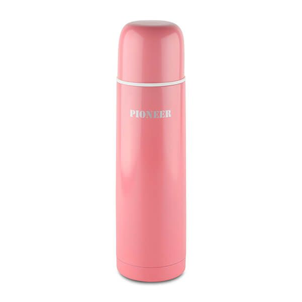 Pioneer 500ml Vacuum Flask Pink