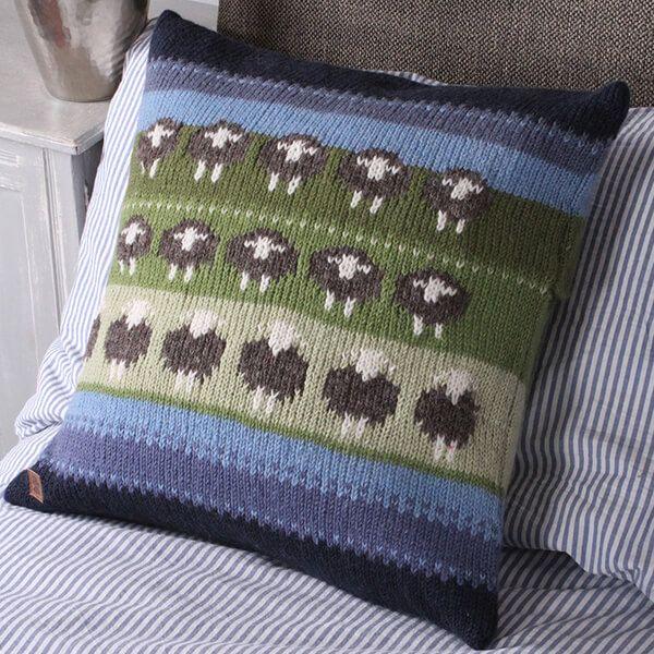 Pachamama Flock Of Herwick Sheep Cushion