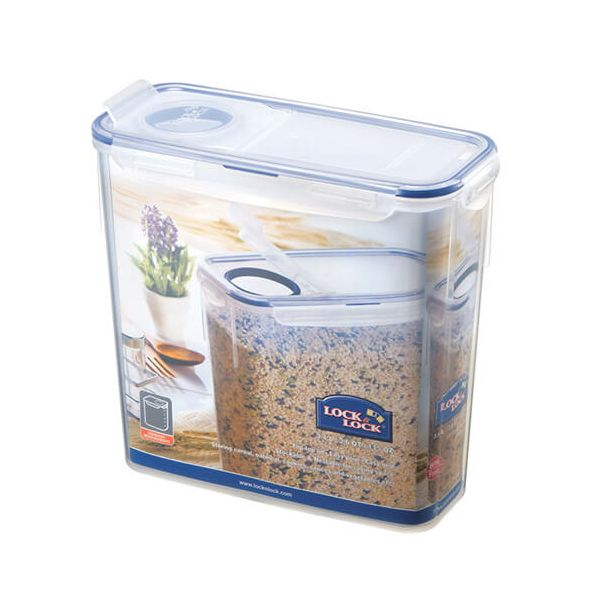 Lock & Lock 3.4 Litre Rectangular Storage Container With Flip Top Lid