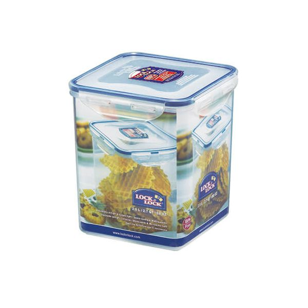 Lock & Lock 2.6 Litre Square Storage Container