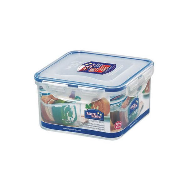 Lock & Lock 1.2 Litre Square Storage Container
