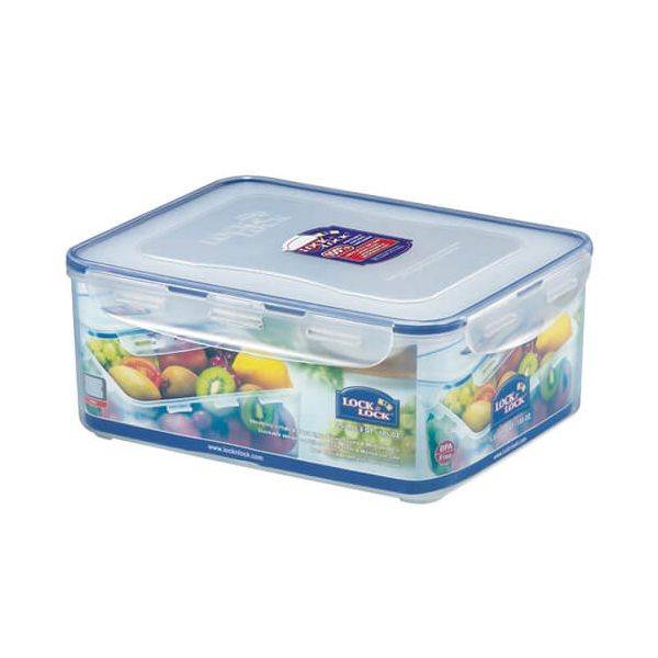 Lock & Lock 5.5 Litre Rectangular Storage Container With Freshness Tray