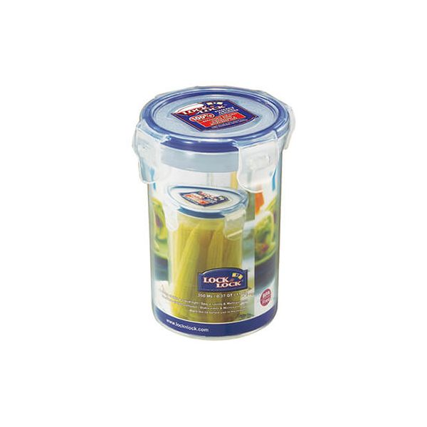 Lock & Lock 350ml Round Storage Container