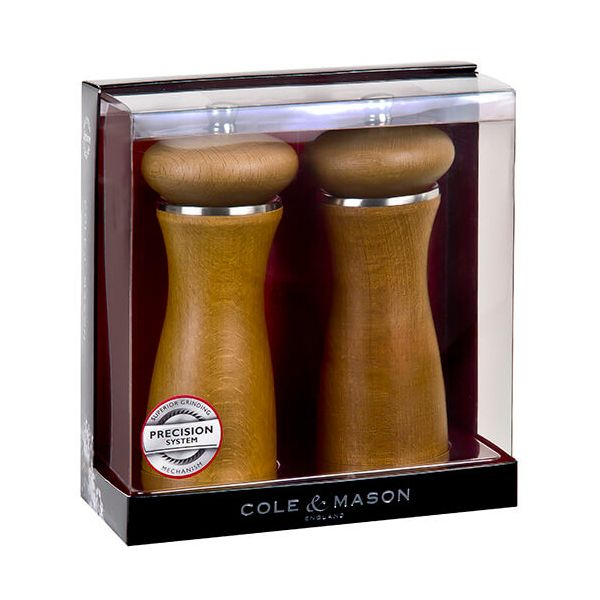 Cole & Mason Sherwood Sand Precision Mill Gift Set