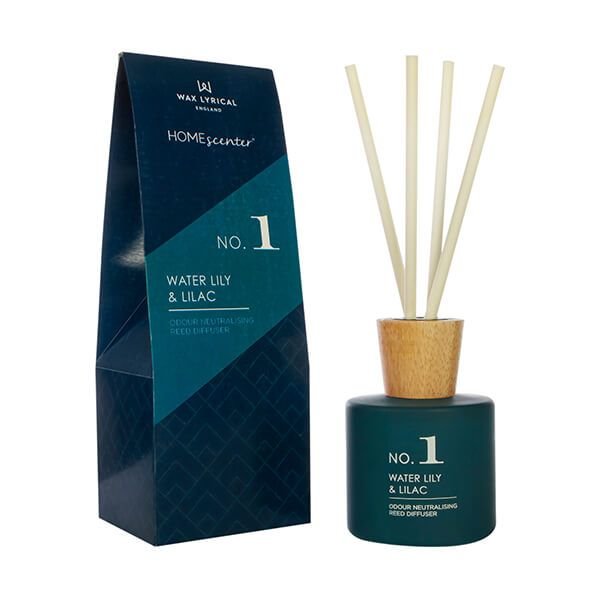 Wax Lyrical Homescenter Water Lily & Lilac Reed Diffuser 180ml