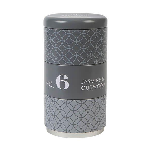 Wax Lyrical Homescenter Jasmine & Oudwood Set of 3 Stacking Candle Tins