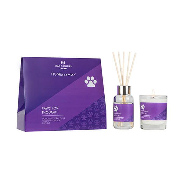 Wax Lyrical Homescenter Paws for Thought Candle & Reed Diffuser Gift Set